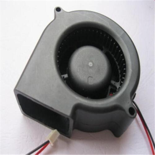 Ventola di raffreddamento CC senza spazzole nera 2 fili 5015S 12V 0.12A 50x15mmB