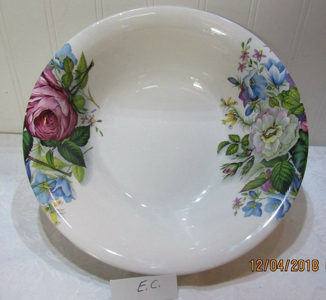 Beautiful Hadida, Fine Porcelain Bowl Floral   Bloomingdales New