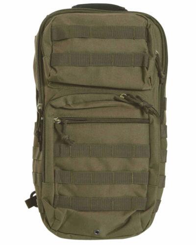Mil-Tec ONE STRAP ASSAULT PACK LG OLIV Tagesrucksack Rucksack Tasche