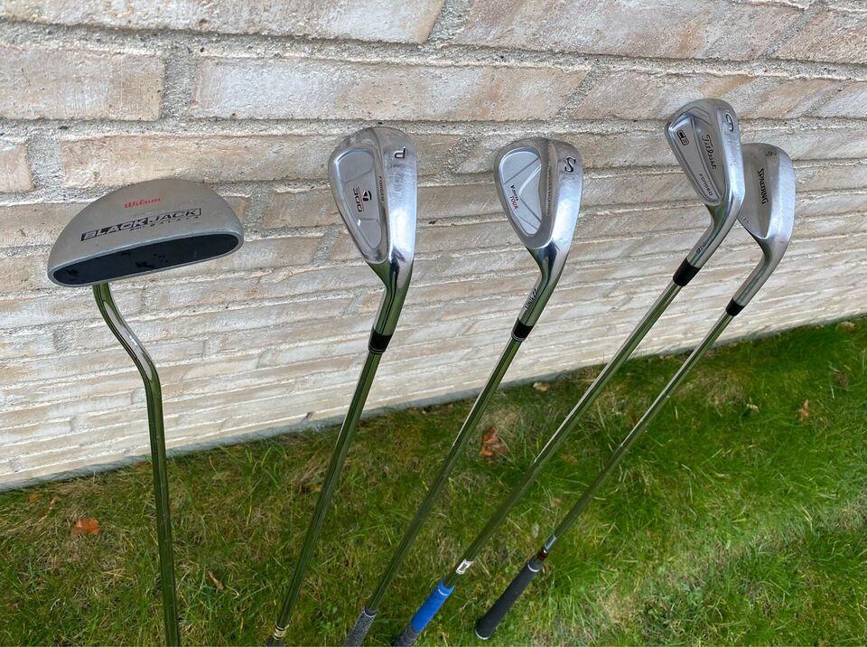 Herre golfsæt, stål, Titleist