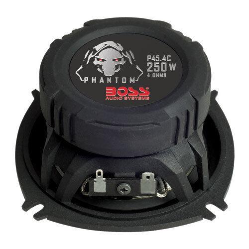 "BOSS P45.4C PHANTOM 4/"" 4-Way Speaker Pair 250 Watt"