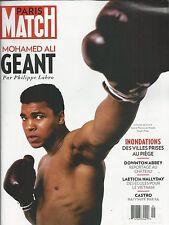 Paris Match magazine Muhammad Ali Downton Abbey Laeticia Hallyday Fidel Castro