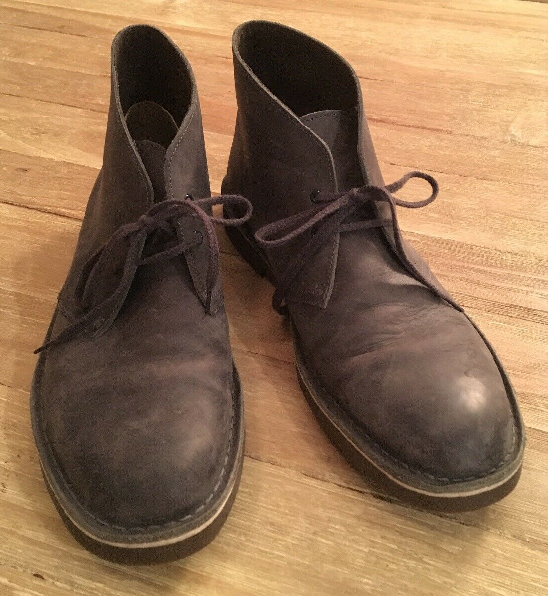 Clarks Bushacre 2 Chukka Boot Ankle Boots Low Heel Mens 11M BROWN