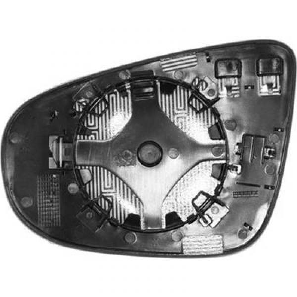 Vetro Specchio Specchietto retrovisore Destro GOLF VI 08- convesso riscaldabi