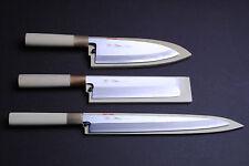 Kasumi 3p Set Japanese sushi sashimi chef knife YOSHIHIRO (YA27/DE18/US19.5)