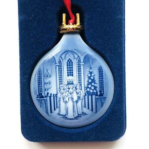 Royal Copenhagen 1991 Christmas Ornament - Festival of ...