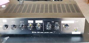 Capable Toa 500 Series 30 W Amplificateur De Sonorisation Mitigeur A-503a, Utilisé, Tiré D'un Travail Boutique.-afficher Le Titre D'origine