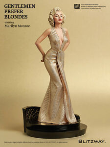 Marilyn-Monroe-1953-Gentlemen-prefer-Blondes-Suberb-Scale-1-4-Statue-Blitzway