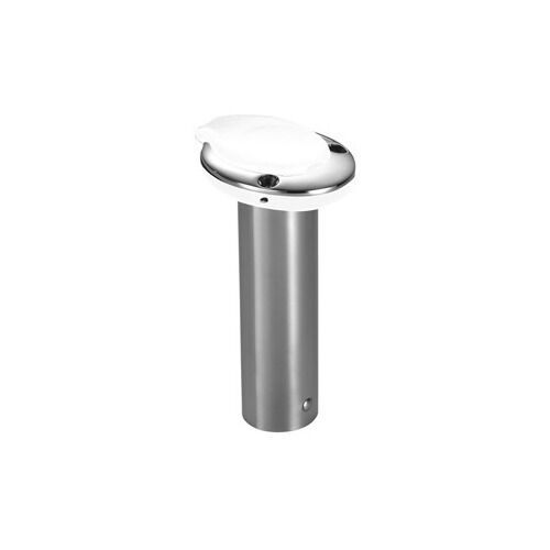 ATTWOOD MARINE  66471W7 ATTWOOD CLOSED END ROD HOLDER 0 DEGREE WHITE INSERT  quality assurance