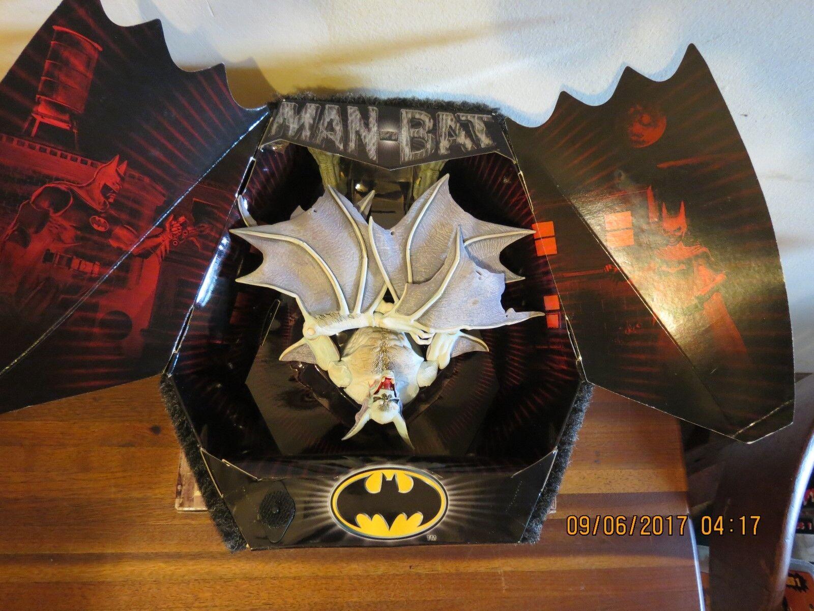 Mattel - universum batman - man-bat action - figur