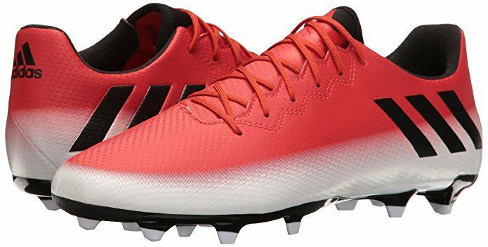 Men Adidas Soccer Soccer Adidas Messi 16.3 FG Shoe BA9020 Outdoor Red/Black/White Brand New 517c21