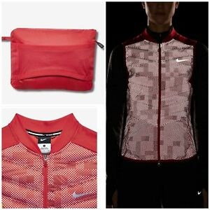 correr para de jogging Reflective Aeroloft mujer para Nike Chaleco Flash Activewear wRtTqyz