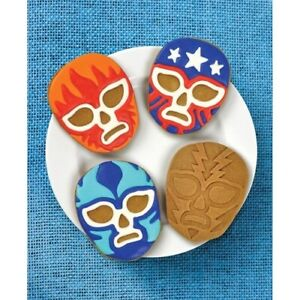 Muncha-Libre-Cookie-Cutters-Stampers-Mexican-Wrestling-Dudes-Kitchen-Gift-Idea