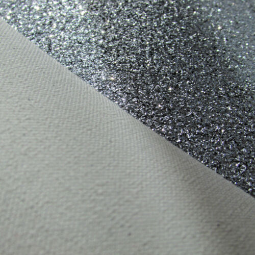 bag// pouch making sewing Fine glitter coated fabric for crafts colour choice
