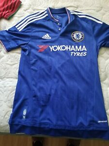 Details about Mens Adidas Chelsea FC 15/16 jersey Size SMALL