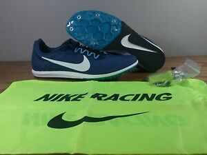 9979d1954b22a Nike Zoom Rival D 10 Track Distance 907566-400 Blue Men Women Sizes ...