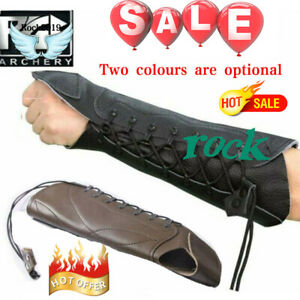 PG1ARCHERY-Archery-Arm-Guard-for-Bow-Hunting-Unisex-Leather-Arm-Hand-Protector