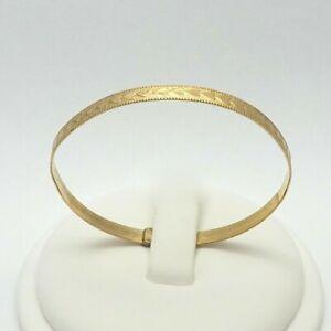 Gold Filled Adjustable Bangle
