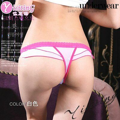 Womens Sexy Thongs G-string V-string Panty Knickers Lingerie Underwear 2099