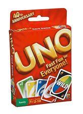 Mattel - Uno - Classic Card Game - Brand New