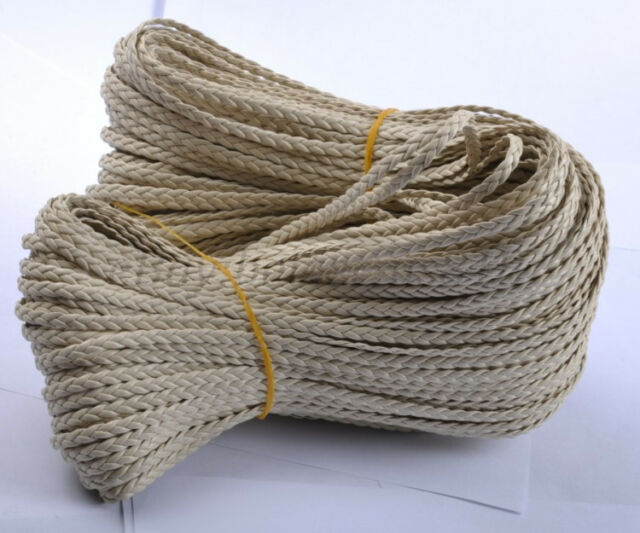2M 100M Man-Made Leather Braid Rope Hemp Cord For Jewelry Making DIY Bracelets