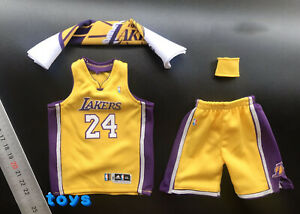 Details about 1/6 Scale Kobe Bryant 24 Basketball Wear Set for 12