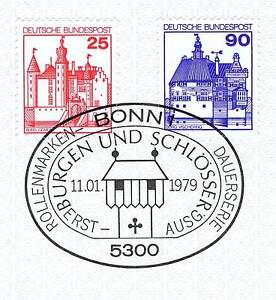 Ordonné Rfa 1979: Château Mèdi Et Château Vischering Nº 996+997 Avec Cachet De Bonn! 1a! 156-afficher Le Titre D'origine Soyez Astucieux Dans Les Questions D'Argent