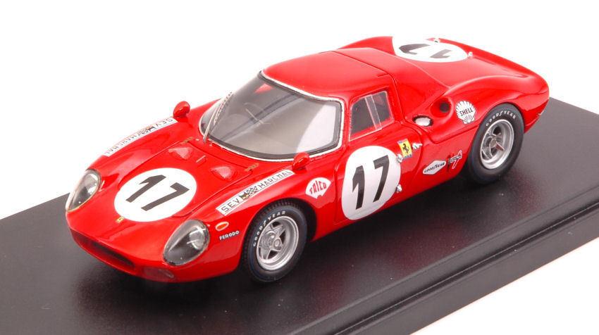 Ferrari 250 lm   17 8. lm 1969. zeccoli   s. posey 1 43 modell looksmart