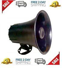 """ProComm JBCPA-5W 5/"""" Waterproof White 12 Watt PA Horn Speaker"""