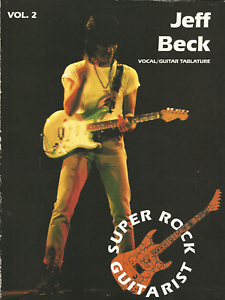 JEFF-BECK-Guitar-TAB-amp-Notes-amp-Vocal-Sheet-Music-Book-Songbook-Album-Shop-Soiled