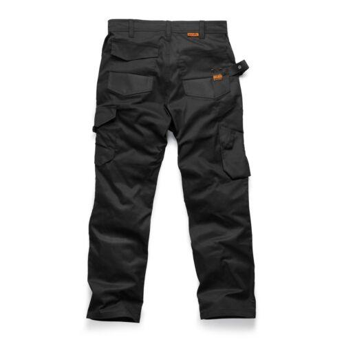 lavoro paia da boot 3 da Slim calzini Trade di Scruffs e di Pantaloni Flex da nero uomo Fit 5pqnO