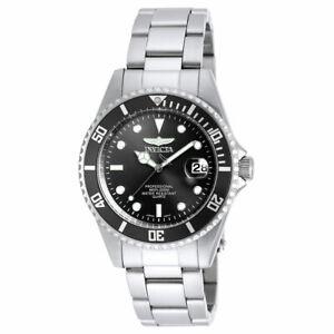 Invicta-Men-039-s-Watch-Pro-Diver-Quartz-Black-Dial-Dive-Quartz-Bracelet-8932OB
