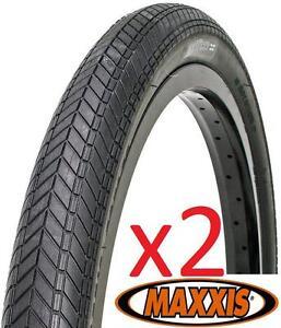 2x-MAXXIS-Grifter-URBAN-MTB-Tyre-29-034-29x2-0-034-35-65PSI-Wire-Semi-Slick-BLACK