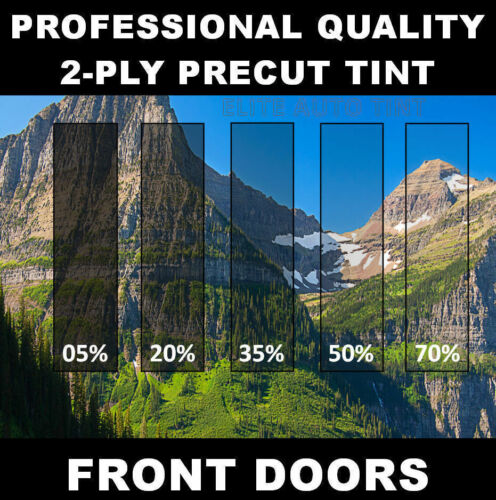 Precut Front 2 Doors Window Tint Kit Year and Model Needed for Hummer