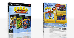 Details about Crash Bandicoot Action Pack PS2 Replacement Game Case Box +  Cover Art (No Game)