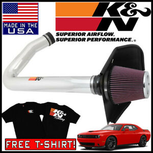 K/&N Filters 69-2544TP Typhoon Cold Air Induction Kit Fits 300 Challenger Charger