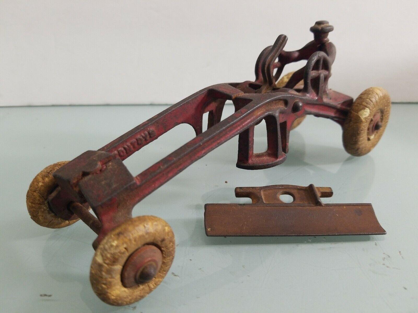 Kenton玩具キャスト鉄ロードグレーダー農場収穫はまれレア