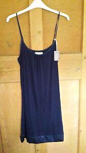 BHS-Sleep-Lounge-Chemise-Nightdress-Navy-Blue