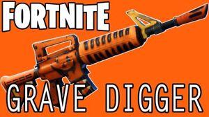 Fortnite 106 Grave digger