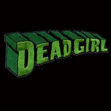KREEPSVILLE666 LARGE DEAD GIRL LETTERING PATCH 14.5CM. HALLOWEEN. HORROR. ZOMBIE