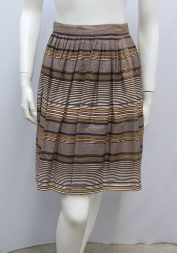 Vintage Tina Leser Original Skirt Stripes Size 8 F