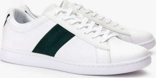 Lacoste Shoes CARNABY Men Casual Leather Sneakers NEW