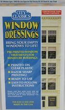 City Classics-HO Scale -- #701 Window Signs 1940-50s era for 101 Grant St Kit