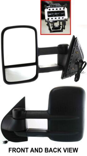2008 2009 2010 GMC Sierra 1500 2500 3500 Driver Side Power Mirror New W//Signal