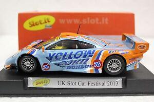 Details About Slot It Sisc10a Mclaren F1 Gtr Uk Slot Car Festival New 1 32 Slot Car In Display