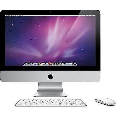 """Apple iMac 21.5"""" MC309DA (May, 2011) 2.5GHz 4GB RAM 500GB HDD VGC"""