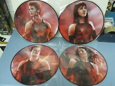The Hunger Games: Catching Fire Soundtrack 2013 2xLP ltd. ed. picture discs NEW!
