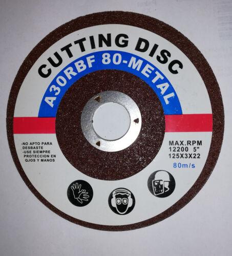 Schleifscheiben Schleifscheibe 6mm Ø125 Metall Trennscheiben Flexscheibe 3mm