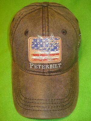 PETERBILT HAT UNSTRUCTURED NAVY CAP     *FREE SHIPPING*