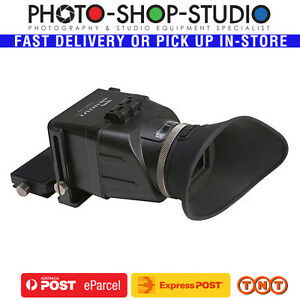 GGS-LCD-Viewfinder-Swivi-S3-3-2-4-3-3-0-034-3-2-034-with-Extension-Bracket-3X-Foldab
